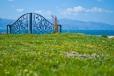 Desde Çesme se puede ver en el horizonte a la Isla griega de Chios, a la que se puede ir en ferry.