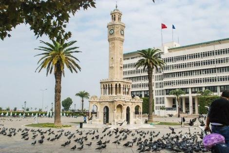 El edificio emblema de Esmirna.