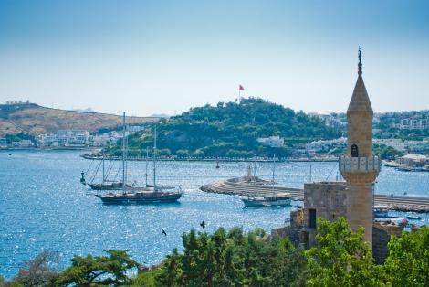 Vista desde una de las torres del castillo, una de las imágenes típicas de la ciudad.