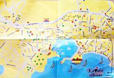 Mapa ampliado de Bodrum