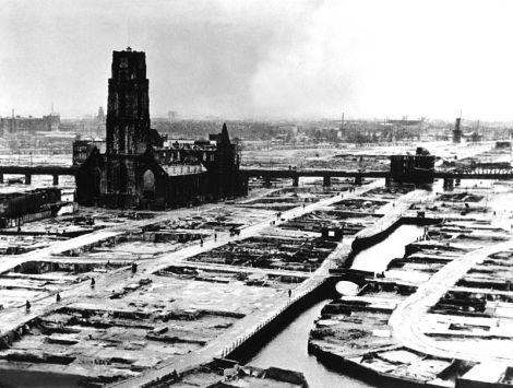 Rotterdam en 1940