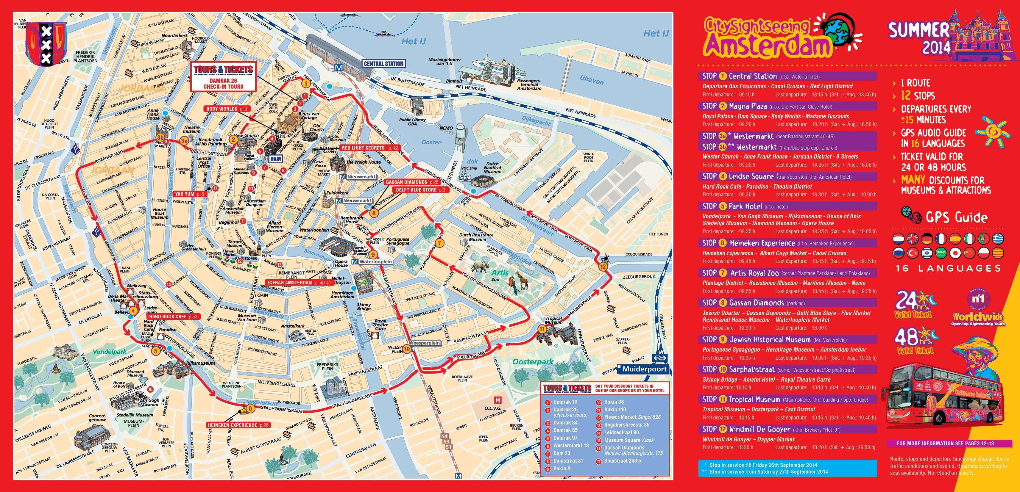 mapa turistico de amesterdao Mini guía de viaje de Ámsterdam, Holanda | Ahí viajé mapa turistico de amesterdao