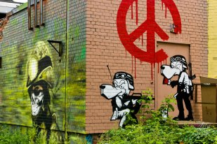 Escuadrón de guerra y de paz.
