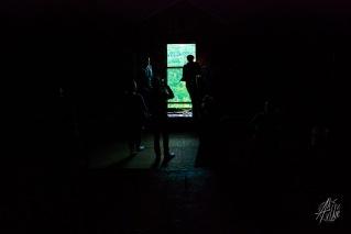Luz en la oscuridad.