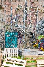 Cara de bicicleta.