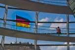 Tursita en el Reichstag