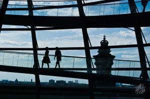 Sombras en el Reichstag