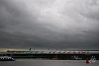 La estación central de trenes, además de ser la principal estación, es considerado el centro mismo de la ciudad. Esta foto fue tomada por detrás de la estación, pero hacia el otro lado está la ciudad propiamente dicha.