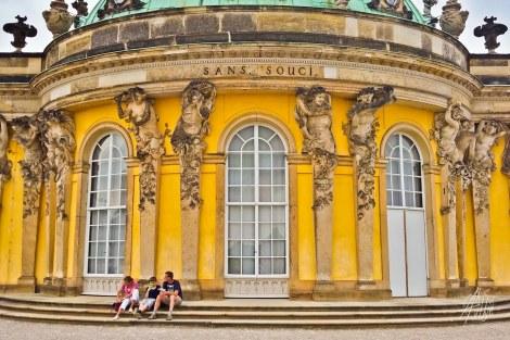 Fachada de Palacio Sanssouci