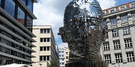 La cabeza de Franz Kafka