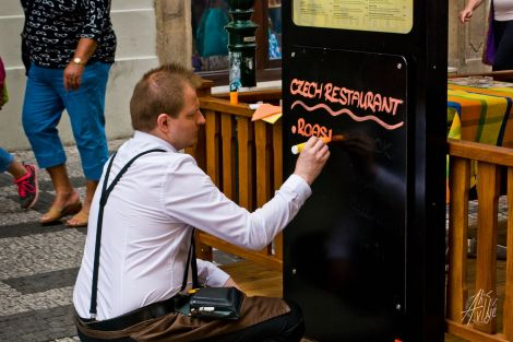 Restaurant en Praga