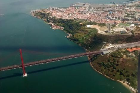 Lisboa desde Ryan Air