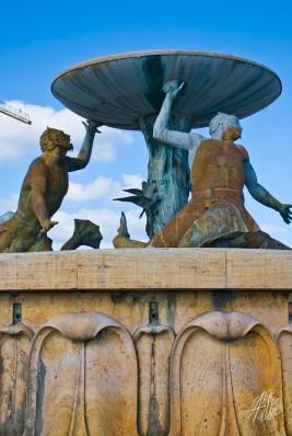 Fuente en La Valetta