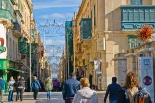 Peatonal en La Valletta