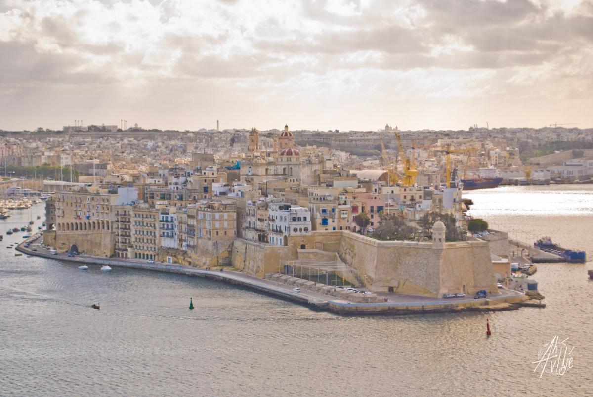 Vista desde La Valletta