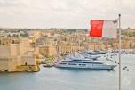 Bandera desde La Valletta