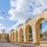 Plaza en La Valletta
