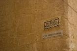 Cartel de calle en Mdina