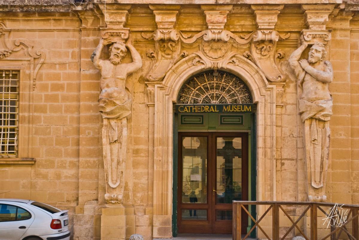 El museo de la Catedral de Mdina