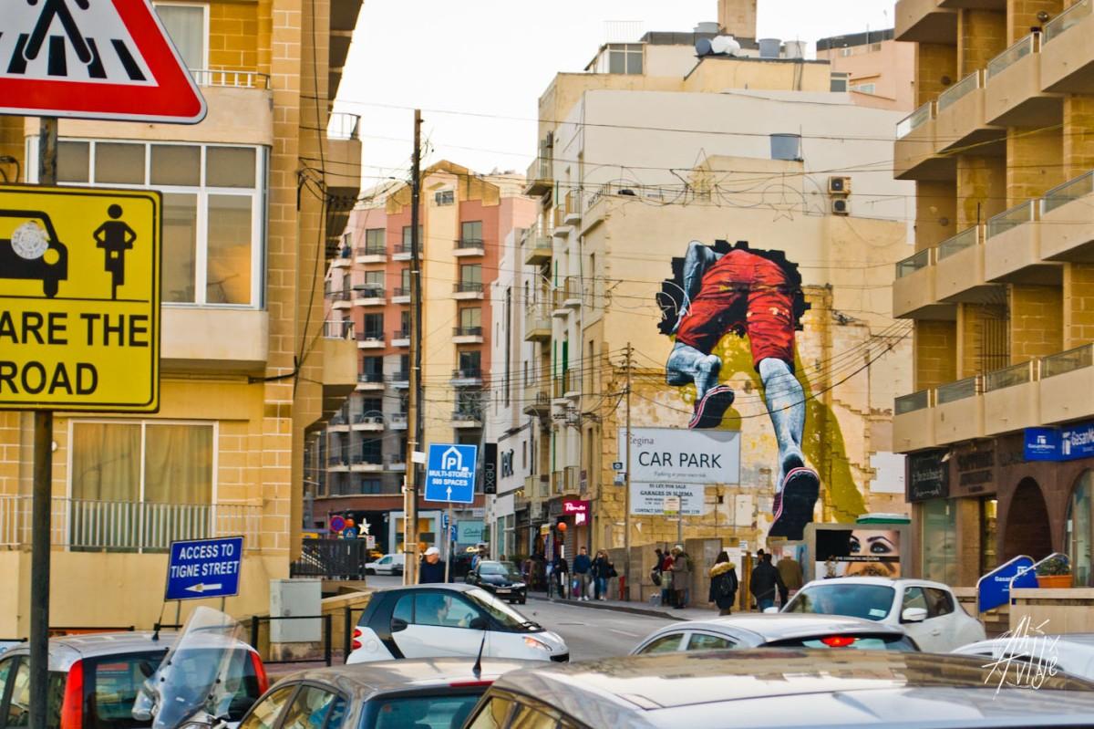 Grafiti en Malta