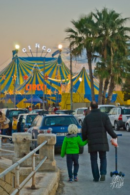 Yendo al circo