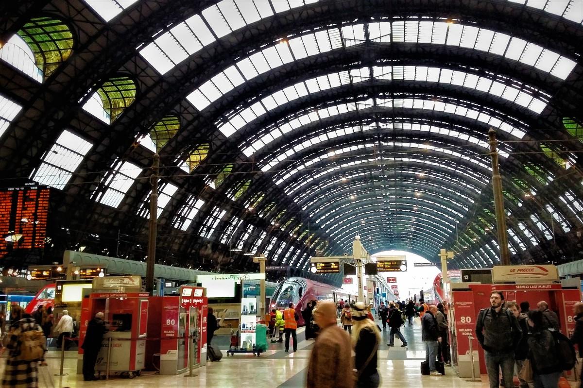 Ir de Milán al aeropuerto de Bérgamo