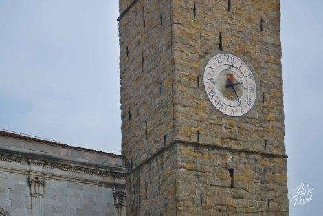 Torre Reloj en Koper, Eslovenia