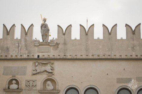 Detalle de Palacio Pretoriano, Koper