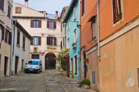 Calle de Koper, Eslovenia