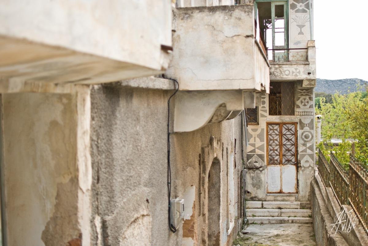 Casa abandonada Pirgi.