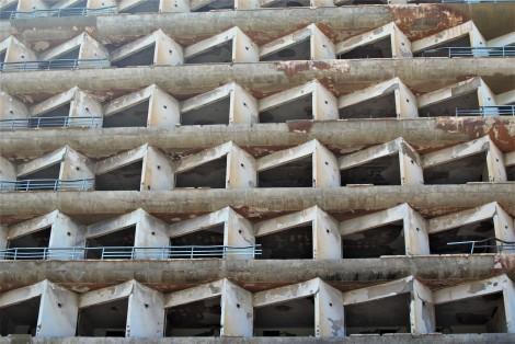 Edificio abandonado en Varosha