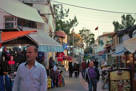 Pasaje Nicosia lado turco