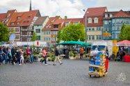 Plaza central de Erfurt