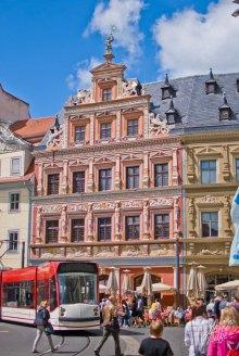 Otra calle de Erfurt