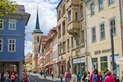 Más calles de Erfurt
