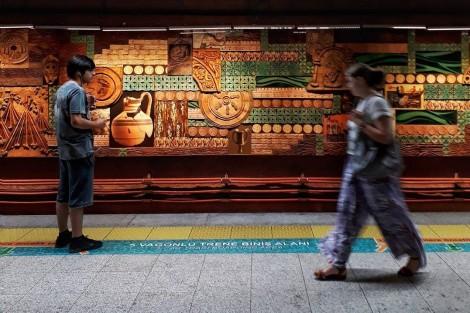 Estación de metro de YeniKapı