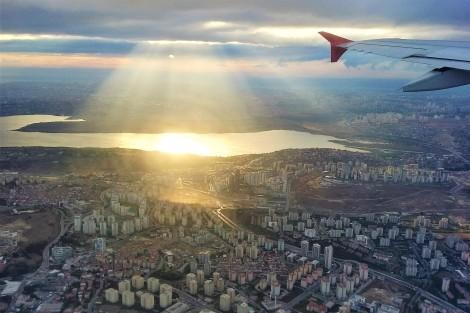 Estambul desde el avión