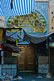 Mezquita en el mercado