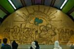 Mural en el metro