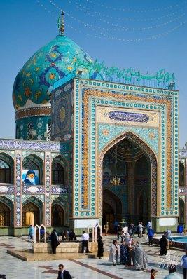 Entrada a Imamzadeh Saleh