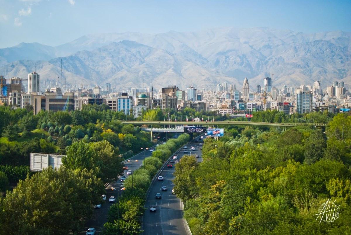 Paisaje de Tehrán