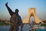 Selfie en la Torre Azadi
