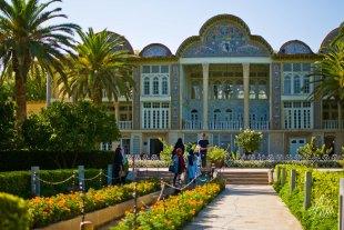 Fachada de uno de los jardines mas inconicos de la ciudad, famosa por los belleza de sus jardines.