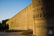 En el centro de Shiraz se encuentra esta ciudadela, construída en el siglo 18.
