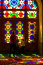 La mezquita Rosa es la mas famosa de la ciudad, a pesar de ser pequena en superficie.