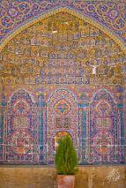 Como todo lugar persa, no puede faltar el verde decorando.