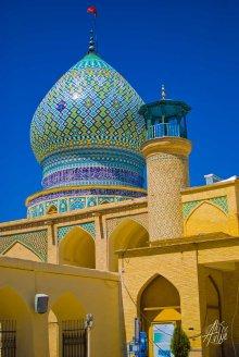 Cúpula de una de las mezquitas de Shiraz
