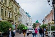 Peatonal principal de la ciudad que una la plaza Gorky con el kremlin de la ciudad.