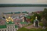 Otra perspectiva desde el Kremlin hacia el Río Volga.