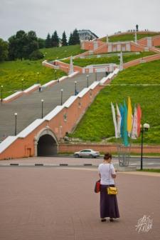 """La principal atracción de la ciudad. Famosa entre los rusos. ¡Belleza! Cuando fui, arriba de la escalera, había un graffiti que decía """"Putin is watching you"""". Seguramente ya lo borraron, pero Putin te sigue espiando."""